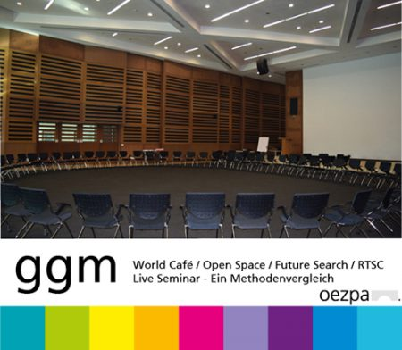 9. Live Seminar – Methoden der Großgruppenmoderation: World Cafe/Open Space/Future Search/RTSC